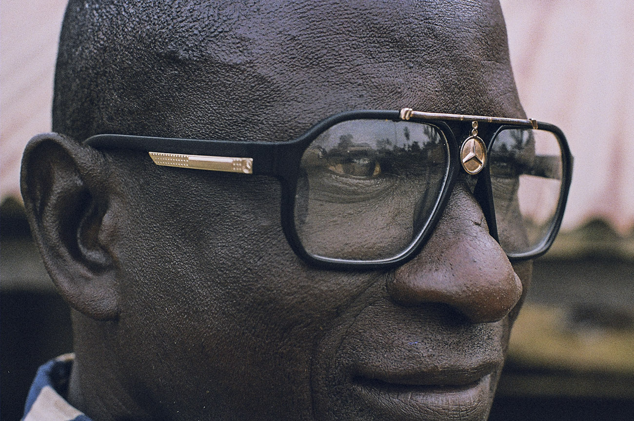 Senegal Close up Man 35mm