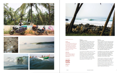 Damaged Goods Zine - Feature Story - Moto India - A Story of a 1,500KM Surf Trip