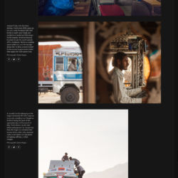 The Guardian - Photo Essay - India's Truck Drivers in Pictures