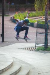 Ozzie Hoppe Al Jazeera Skateboarding India